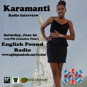 Kara English Pound Radio Interview