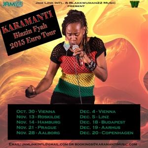 Blazin Fyah Euro Tour