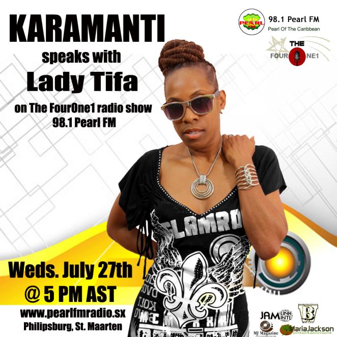 Karamanti Pearl FM Interview