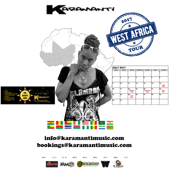 Kara West Africa Tour 2017