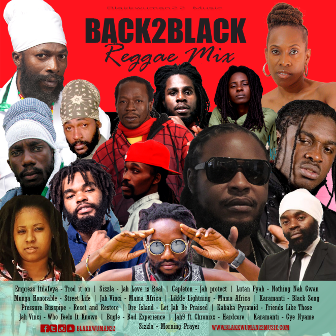 Blakkwuman22 Music presents Back2Black Reggae Mix