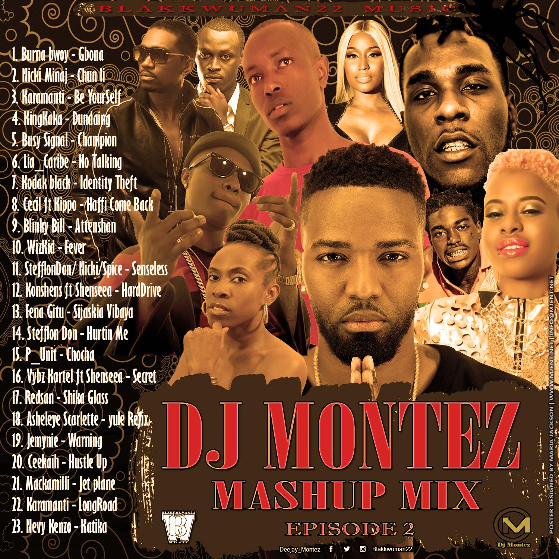 dj montez mashup mix - episode 2